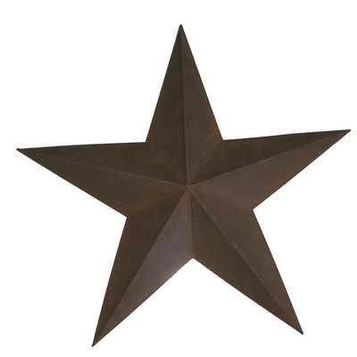Decorative Star Wall Decor - Antique rusty - Wayfair