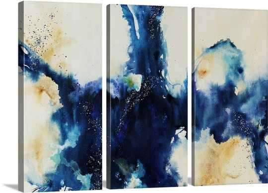 "Migration Blues Wall Art - 60"" x 40"" - Unframed - greatbigcanvas.com"
