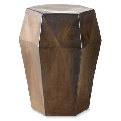 Geometric Ceramic Accent Table - Williams Sonoma Home