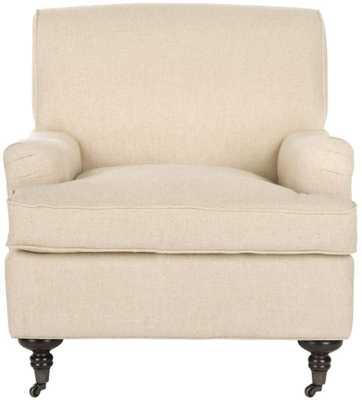 Chloe Club Chair Hemp - Domino