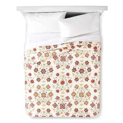 """Thresholdâ""""¢ Stitched Floral Quilt - Full/Queen - Target"""