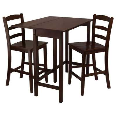 Lynnwood 3 Piece Dining Table Set - Wayfair