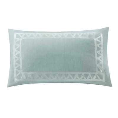 "Mykonos Cotton Lumbar Pillow - 12"" H x 20"" W - Polyfill - Wayfair"