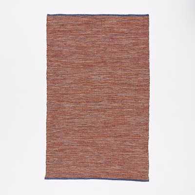 Contrast Warp Wool Rug, 5'X8', Multi - West Elm