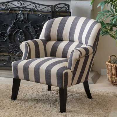 Christopher Knight Home Amelie Stripe Fabric Club Chair - Overstock