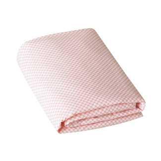 DwellStudio Rosette Check Blossom Fitted Crib Sheet - Wayfair