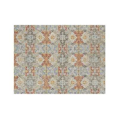 Alvarez Garden Wool-Blend Rug - Crate and Barrel