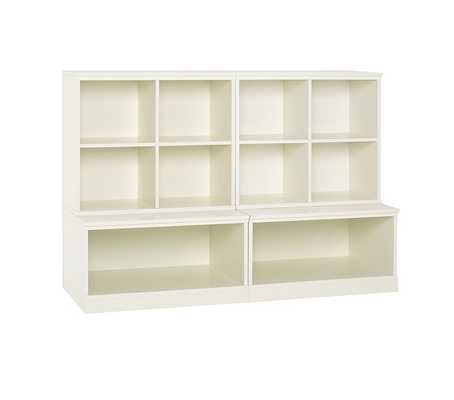 Cameron 2 Cubby & 2 Open Base Storage System - Pottery Barn Kids
