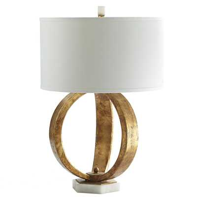 Gold Sphere Lamp - Wisteria