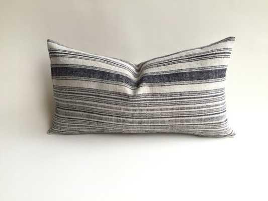 Hmong Bohemian Stripe Zipper Pillow cover - Etsy