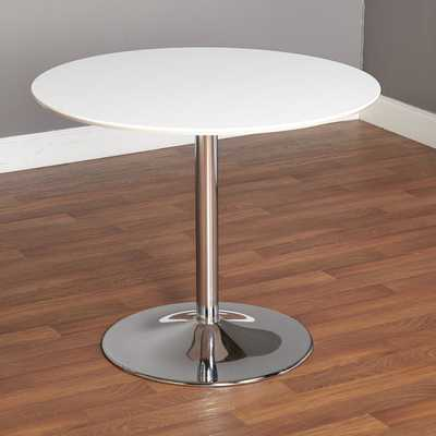 Simple Living Pisa Dining Table - White - Overstock