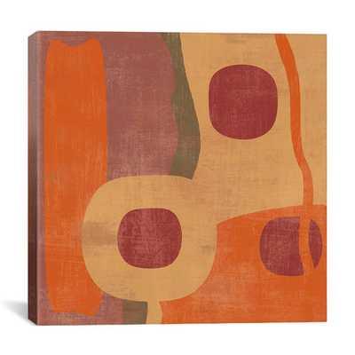 """Abstract I"" Canvas Wall Art by Erin Clark - 18""x18"" - Unframed - AllModern"