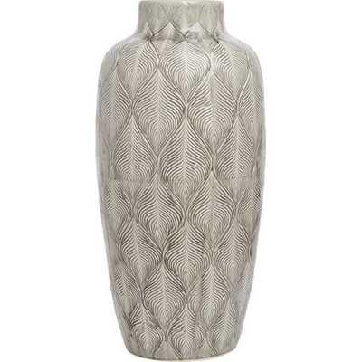Feathered Oversize Vase - AllModern