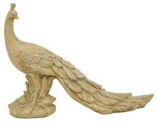 "30"" Peacock Figurine - One Kings Lane"