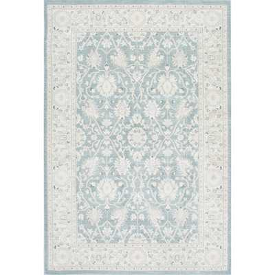 nuLOOM Traditional Persian Vintage Blue Rug (9' x 12') - Overstock