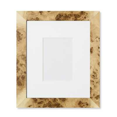 Exotic Burl Wood Gallery Picture Frame - Williams Sonoma