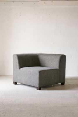 Elliot Custom Sectional Sofa Corner Piece - Dark Grey - Urban Outfitters