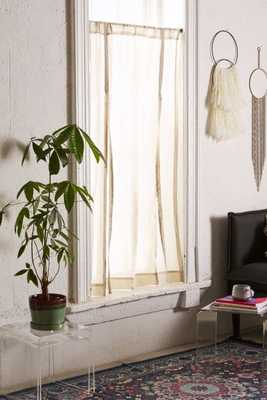 "Draped Shade Curtain - Grey - 45""W x 63""L - Urban Outfitters"
