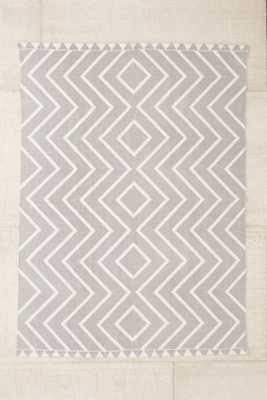 Assembly Home Diamante Printed Rug - 8' x 10' - Grey - Urban Outfitters