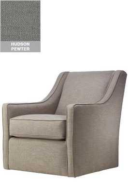 Custom Khloe Upholstered Swivel chair - Home Decorators