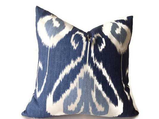"Blue Pillows - 20"" x 20"" (Insert needed) - Etsy"