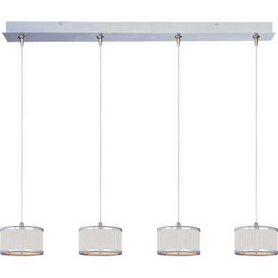 Elements 4-Light RapidJack Pendant and Canopy - AllModern