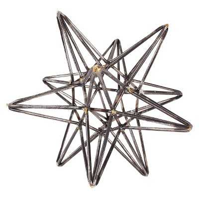"Metal Star Sculpture - The Industrial Shopâ""¢ - Target"