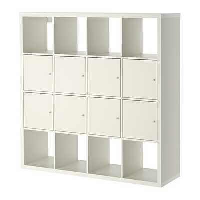KALLAX Shelf unit with 8 inserts - Ikea