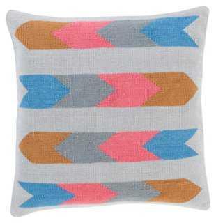Kilim Cotton Pillow - One Kings Lane