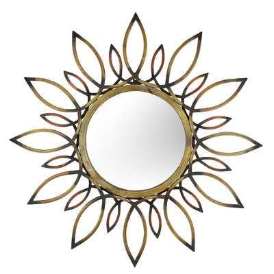 Starburst Wall Mirror - Wayfair