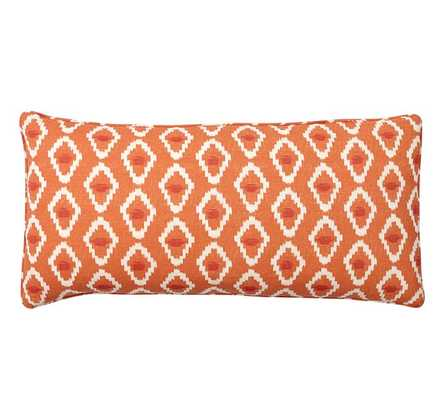 Diamond Ikat Pillow Cover  - 12x24 - Insert Sold Separately - Pottery Barn