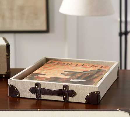 HAWTHORNE DESK TRAY - Pottery Barn