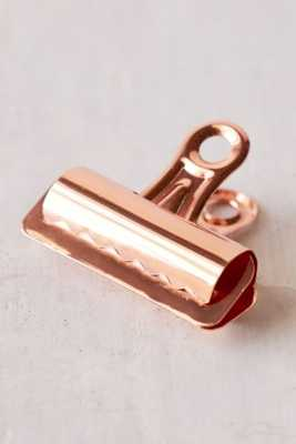 Copper Bulldog Clips Set - Urban Outfitters