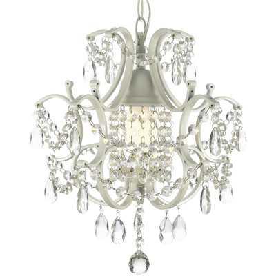 Versailles 1 Light Crystal Chandelier - Wayfair