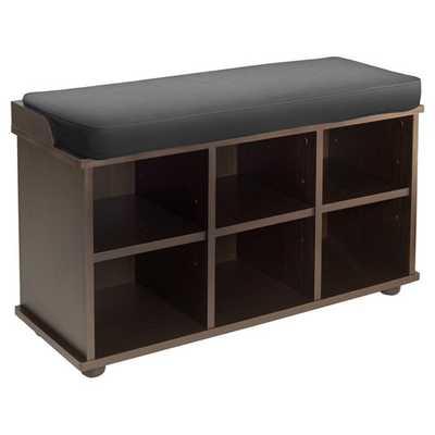 Townsend 6 Cubby Storage Bench - AllModern