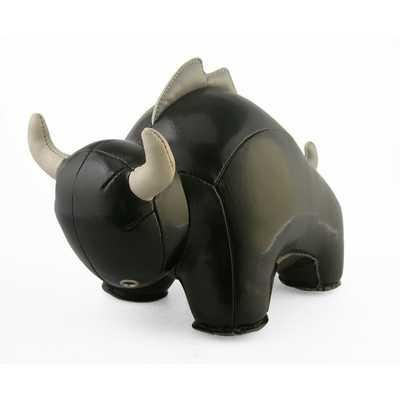 Buloo the Bull Bookend - Black - AllModern