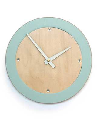 Modern Wall Clock - Domino