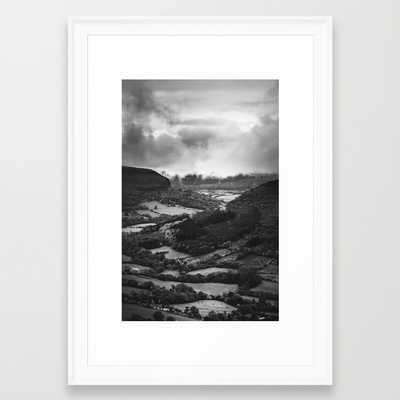 """Forests and Storms 15"""" x 21"""" framed - Society6"""