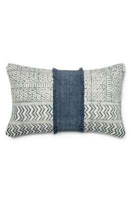 "Accent Pillow - Blue/ Ivory - 13"" x 21"" - with insert - Nordstrom"