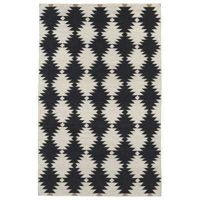 Nomad Black & Cream Geometric Area Rugby Kaleen - Wayfair
