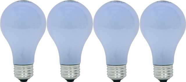 GE Lighting 48688 60-Watt A19 Reveal Bulbs, 4-Pack - Amazon