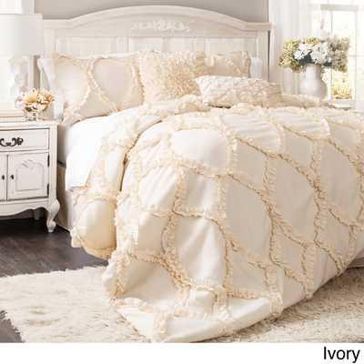 Lush Decor Avon 3-piece Comforter Set - Queen - Overstock