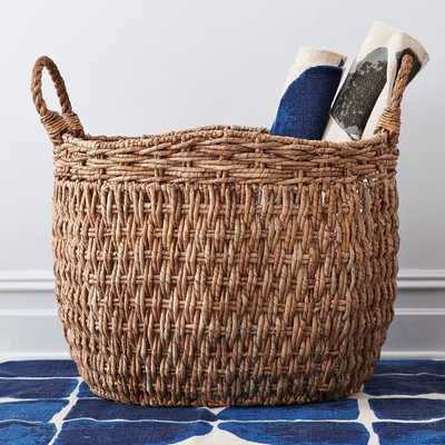 Oversize Seagrass Basket - West Elm