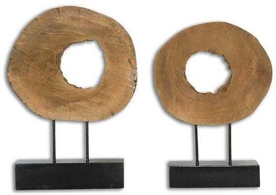 ASHLEA DRIFTWOOD DECOR - SET OF 2 - Home Decorators