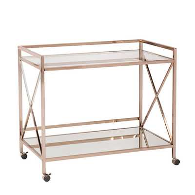 Upton Home Mattox Bar Cart - Overstock