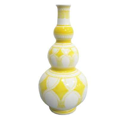 Inca Bottle Vase by Sagebrook Home - Wayfair