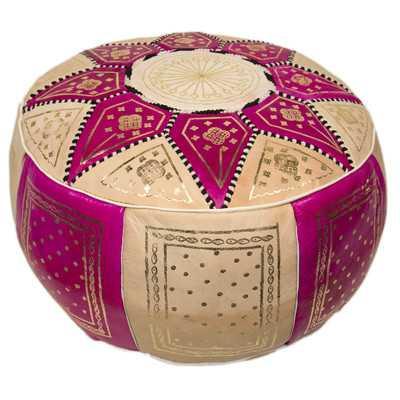 Moroccan Marrakech Pouf Ottoman - Wayfair