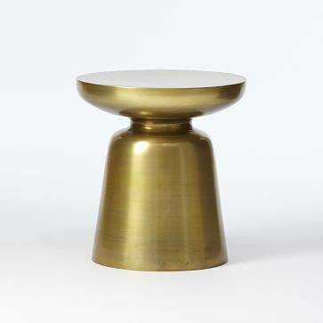 Martini Side Table, Antique Brass - Domino
