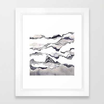 """The Shore - 10"""" x 12"""" - Framed - Society6"""