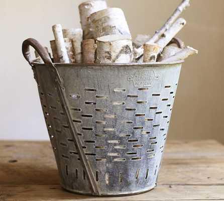PB Found Olive Bucket - Pottery Barn